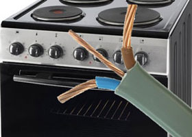 Electric Cooker Installation
