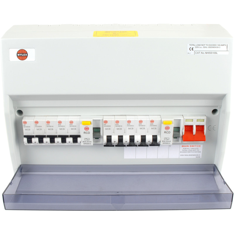 a fusebox, also sometimes known as a consumer unit, should be easy to find  and is where the electricity in your home